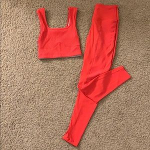 Year of Ours ribbed set size XS